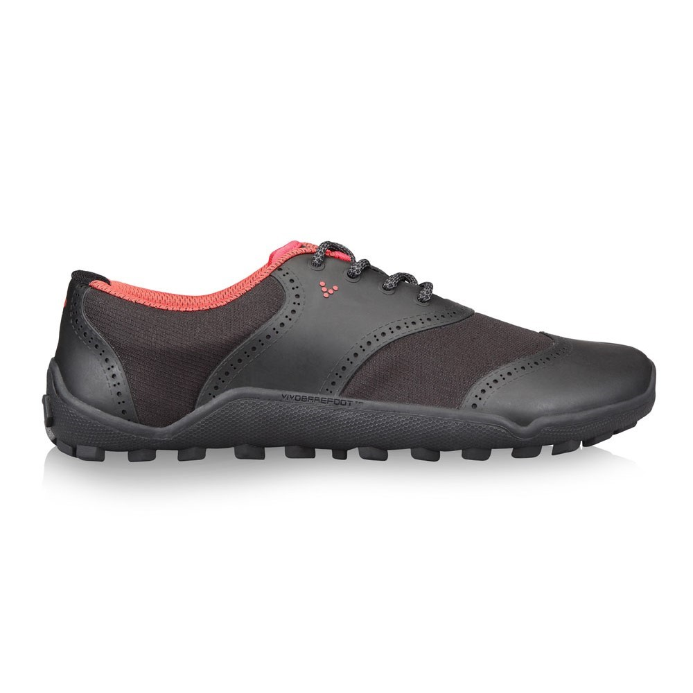 Vivobarefoot Linx Mens Golf Shoes - Black/Red Online ...